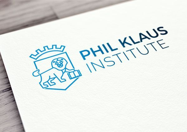Folio encabezado con el logotipo de Phil Klaus Institute